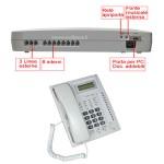 Centralino telefonico analogico 308 416